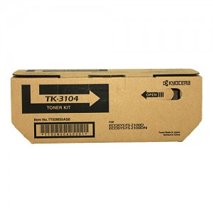 Genuine Kyocera TK3104 Toner Kit FS-2100DN / FS-2100D - 12,500 pages