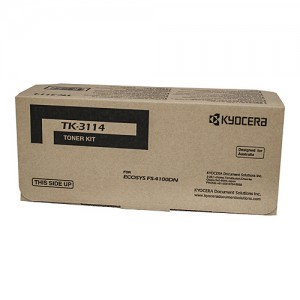 Genuine Kyocera TK3114 Toner Kit FS-4100DN - 15,500 pages