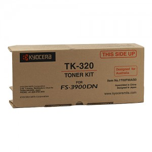 Genuine Kyocera FS-3900DN / 4000DN Toner Cartridge - 15,000 pages @ 5%