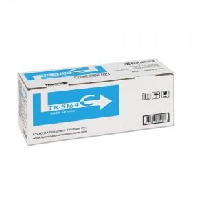 Genuine Kyocera TK5164 Cyan Toner Cartridge - 12,000 pages