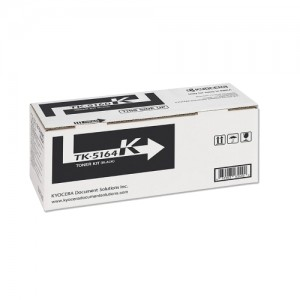 Genuine Kyocera TK5164 Black Toner Cartridge - 16,000 pages