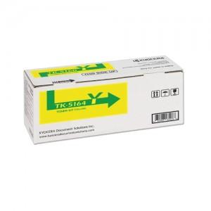 Genuine Kyocera TK5164 Yellow Toner Cartridge - 12,000 pages