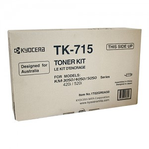Genuine Kyocera KM-3050 / 4050 / 5050 Copier Toner - 34,000 Pages