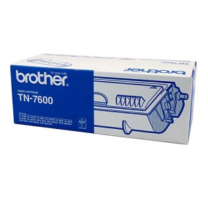 Genuine Brother TN-7600 Toner Cartridge - 6,500 pages
