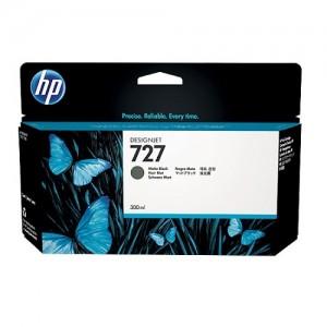 Genuine HP #727 300ml Matte Black Ink Cartridge -
