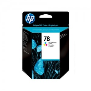 Genuine HP #78D Colour Ink Cartridge - 19ml - 450 pages