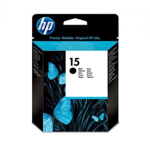 Genuine HP #15 Black Ink Cartridge - 25ml - 495 pages
