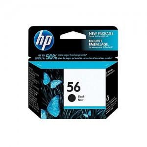 Genuine HP #56 Black Ink Cartridge - 450 pages