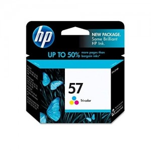 Genuine HP #57 Colour Ink Cartridge - 400 pages