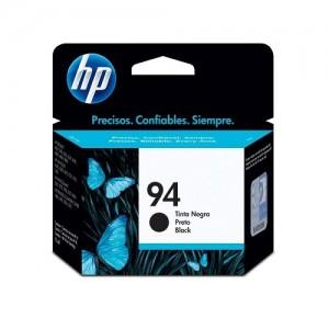 Genuine HP #94 Black Ink Cartridge - 11ml - 450 pages