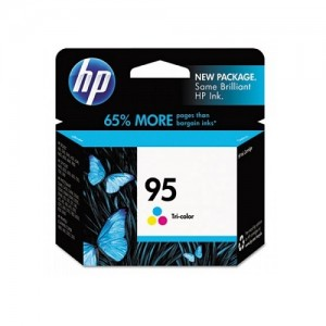 Genuine HP #95 Colour Ink Cartridge - 7ml - 260 pages