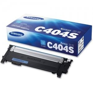 Genuine Samsung CLTC404S Cyan Toner Cartridge to suit SLC430/SLC430W/SLC480/SLC480FW - 1,000 pages