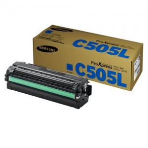 Genuine Samsung CLTC505L Cyan Toner Cartridge to suit SLC2620DW / SLC2670FW / SLC2680FX