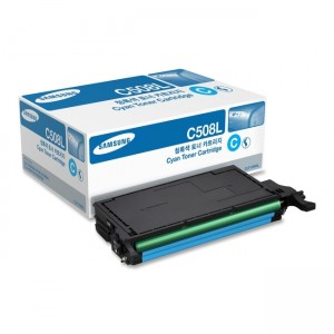 Genuine Samsung CLTC508L Cyan Toner Cartridge to suit CLP-620ND / CLP-775ND - 4,000 pages
