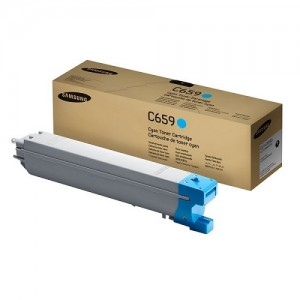 Genuine Samsung CLTC659S Cyan Toner Cartridge to suit CLX8640ND / CLX8650ND - 20,000 pages
