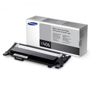 Genuine Samsung CLTK406S Black Toner to suit CLP360 / CLP365 / CLX3300 / CLX3305 - 1,500 pages