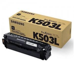 Genuine Samsung CLTK503L Black Toner Cartridge to suit SLC3010ND / SLC3060FR - 8,000 pages