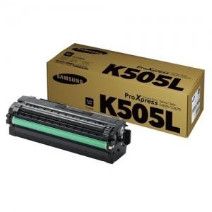 Genuine Samsung CLTK505L Black Toner Cartridge to suit SLC2620DW / SLC2670FW / SLC2680FX