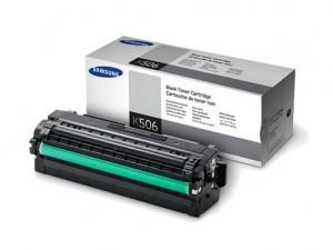 Genuine Samsung CLTK506L Black Toner Cartridge to suit CLP680 / CLX6260 - 6,000 pages