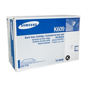 Genuine Samsung CLTK609S Black Toner Cartridge to suit CLP-770ND - 7,000 pages
