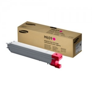 Genuine Samsung CLTM659S Magenta Toner Cartridge to suit Samsung CLX8640ND / CLX8650ND - 20,000 pages