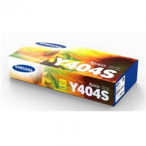 Genuine Samsung CLTY404S Yellow Toner Cartridge to suit SLC430 / SLC430W / SLC480 / SLC480FW - 1,000 pages
