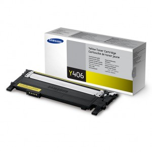 Genuine Samsung CLTY406S Yellow Toner to suit CLP360 / CLP365 / CLX3300 / CLX3305 - 1,000 pages