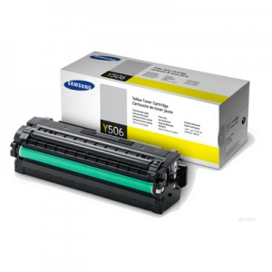Genuine Samsung CLTY506L Yellow Toner Cartridge to suit CLP680 / CLX6260 - 3,500 pages