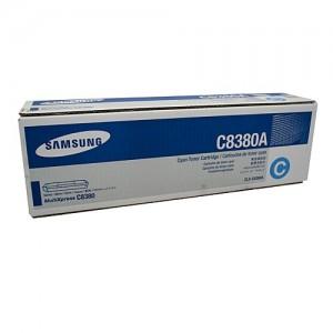 Genuine Samsung CLXC8380A Cyan Toner Cartridge to suit CLX-8380 - 15,000 pages