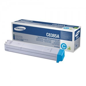 Genuine Samsung CLXC8385A Cyan Toner Cartridge to suit CLX-8385 - 15,000 pages