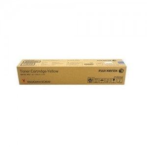 Genuine Fuji Xerox CT202399 Yellow Toner Cartridge for Docucentre SC2020 - 14,000 pages