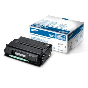 Genuine Samsung MLTD305L Black Toner Cartridge to suit ML3750ND - 15,000 pages
