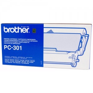 Genuine Brother PC-301 Print Cartridge + 1 roll