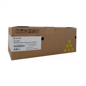 Genuine Kyocera TK154Y Yellow Toner Cartridge for FS-C1020MFP - 6,000 pages