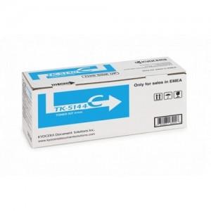 Genuine Kyocera TK5144 Cyan Toner Cartridge - 5,000 pages