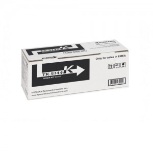 Genuine Kyocera TK5144 Black Toner Cartridge - 7,000 pages