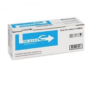 Genuine Kyocera TK5154 Cyan Toner Cartridge - 10,000 pages