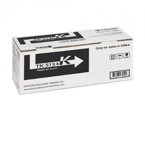 Genuine Kyocera TK5154 Black Toner Cartridge - 12,000 pages