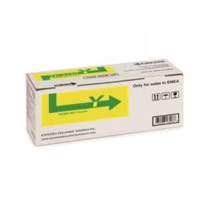 Genuine Kyocera TK5209 Yellow Toner Cartridge - 12,000 pages