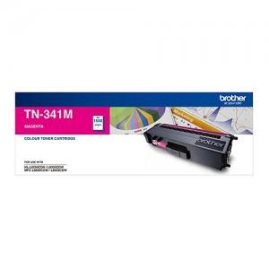 Genuine Brother TN-341M Magenta Toner Cartridge - 1,500 pages