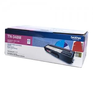 Genuine Brother TN-348M Magenta Toner Cartridge - 6,000 pages