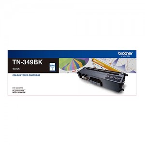 Genuine Brother TN-349BK Black Toner Cartridge - 6,000 pages