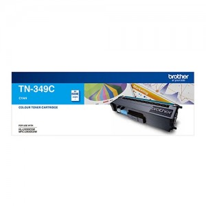 Genuine Brother TN-349C Cyan Toner Cartridge - 6,000 pages