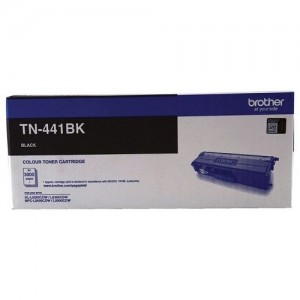 Genuine Brother TN-441BK Black Toner Cartridge - 3,000 pages