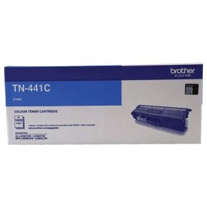 Genuine Brother TN-441C Cyan Toner Cartridge - 1,800 pages