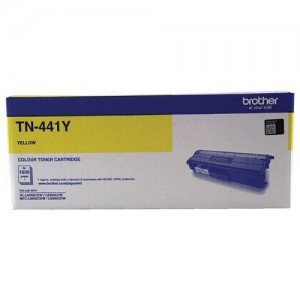 Genuine Brother TN-441Y Yellow Toner Cartridge - 1,800 pages