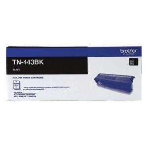 Genuine Brother TN-443BK Black Toner Cartridge - 4,500 pages