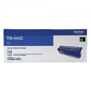 Genuine Brother TN-443C Cyan Toner Cartridge - 4,000 pages