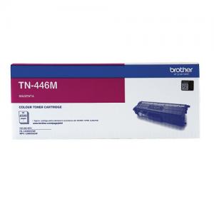Genuine Brother TN-446M Magenta Toner Cartridge - 6,500 pages