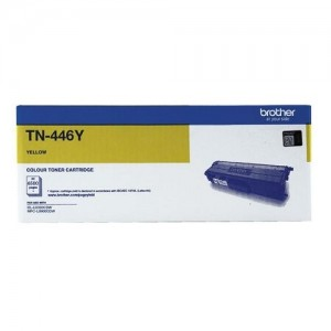 Genuine Brother TN-446Y Yellow Toner Cartridge - 6,500 pages